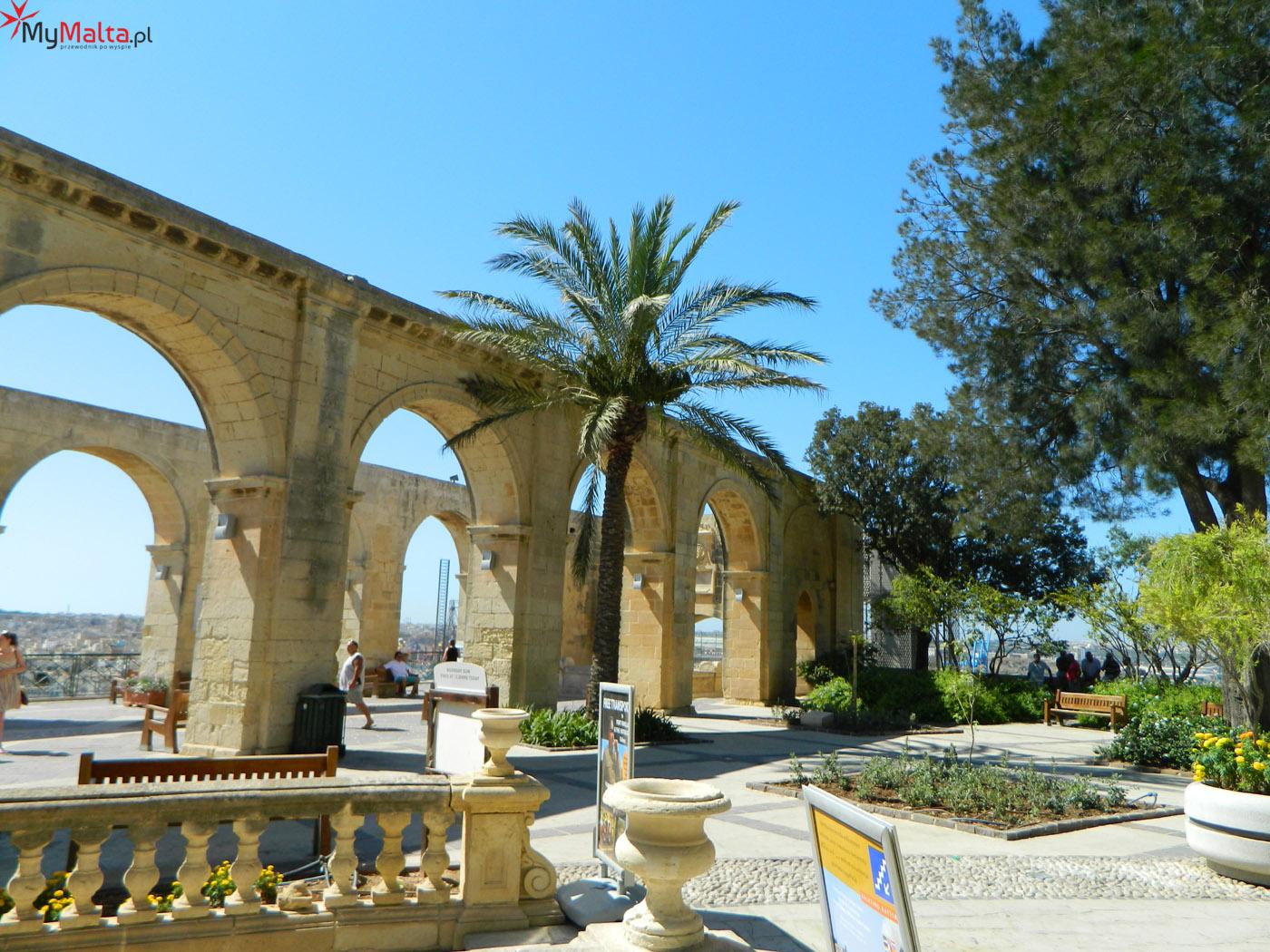 Ogrody Barrakka - Valletta
