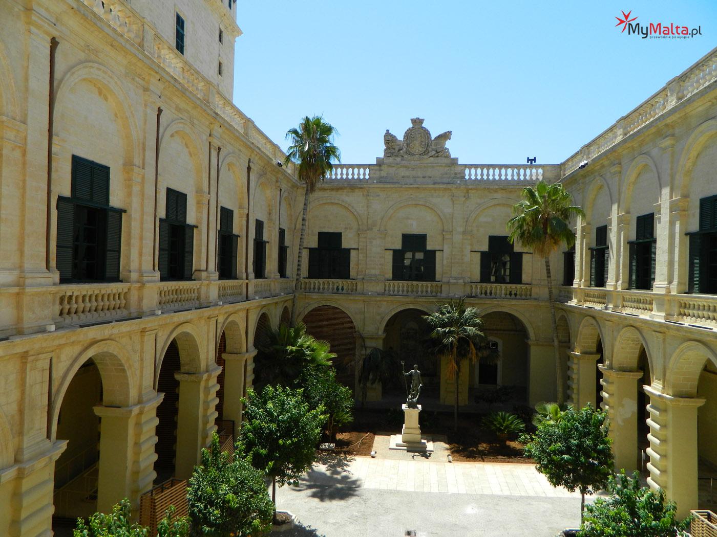 Pałac Wielkich Mistrzów - Valletta