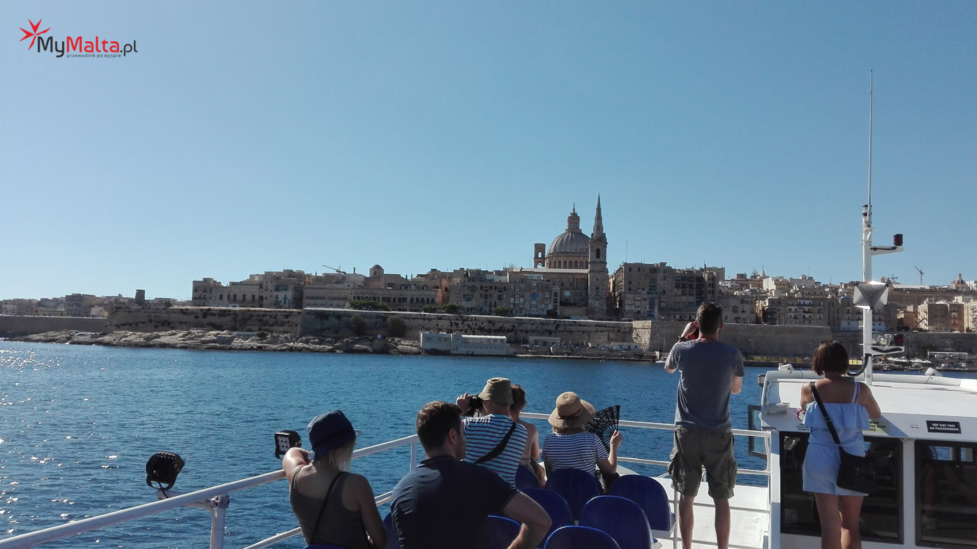 Rejs promem z Sliemy do Valletty