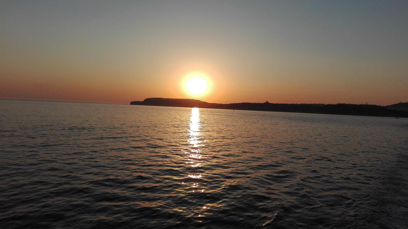 Gozo - Zachód Słońca